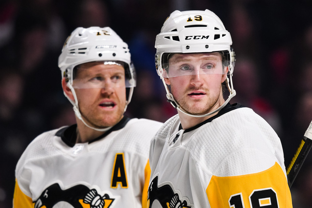 Pittsburgh Penguins trade bait Jared McCann and Patric Hornqvist